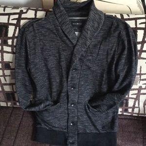 Men's Marc Ecko button down sweater cardigan